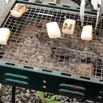柿の木坂の家 - 炭火焼き♪