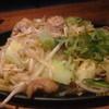 とり道楽 - 料理写真:ハラミ塩焼きソバ