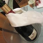 Bistro R - スパークリングワインをボトルで