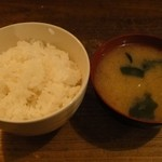 松南食堂 - ご飯はお替り自由