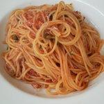 1775124 - 青とうがらしとシラスのトマトソーススパゲッティーニ