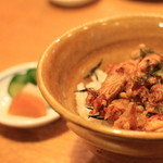 新小岩割烹 小楽 - 芝海老の天丼