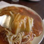 サヴァラン - 2)麺アップ