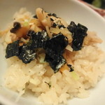 日本料理 木の花 - あさりご飯