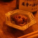 17753257 - すごく濃厚なれんこんの旨味が美味でした。