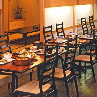 ◇全48席◇和の趣ある空間で、ゆったりとお食事を