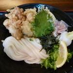 瀬戸内製麺710 - とり玉天ぶっかけ(H25.3.8)
