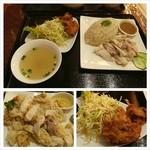 17755357 - ずっと食べたかったカオマンガイ。大阪では初めて。後はガパオだ。タイ料理探訪の旅は続く。