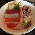 17757572 - 1000円ランチのチラシ寿司