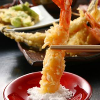 渾身の天ぷらを味わっていただく、こだわりのディナーコース