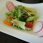灯 - 料理写真:パスタセットのサラダ