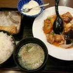 17760419 - 酢豚定食 980円