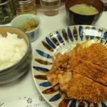 キッチン台栄 - チキンカツしょうが焼きセット