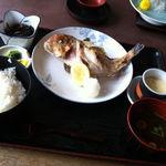 17760986 - 甘鯛の塩焼き定食