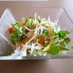 ローズベイカフェ タカシマ - セットのサラダ♪