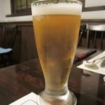 レストラン亀遊亭 - 生ビール