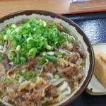 桜製麺 - 肉うどん 大