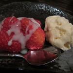 日本酒と鮮魚居酒屋 囲炉裏 - デザート