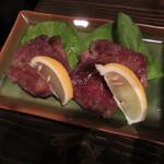日本酒と鮮魚居酒屋 囲炉裏 - 牛タン焼き