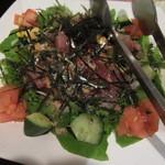 日本酒と鮮魚居酒屋 囲炉裏 - サラダ