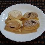 ラップドクレープ コロット - カスタード、チョコクッキー