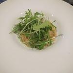 パスタ・ディ・フランコ - ジャコと水菜のペペ