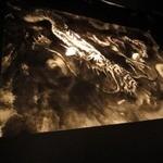 ボワ ヴェール - ねぶたでお世話になった跳龍会のカナメさんが、開店祝いに贈られたという龍の絵も。