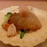 和食 瑞木 - 帆立をすり身にして もちっとして美味しい