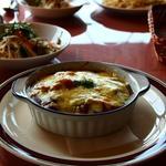 花風里 - 焼きカレー、チーズが濃厚です^^