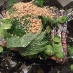 海の味 有福 - サバ炙り丼