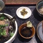 海の味 有福 - 定食全体像