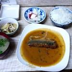 お食事 樹 - サバの味噌煮定食