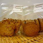 菓子日和 - かわり種クッキー2種  梅と味噌