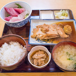 """千里浜 - 2品が選べる""""千里浜定食"""""""