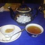 アロヒディン - 2013.03・セットのデザートと紅茶