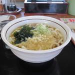山田うどん - たぬき饂飩 240円