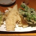 高田屋 - 春野菜の天ぷら盛り合わせ