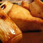 浅七 - 煎り焼き豆腐
