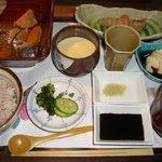 Sakanarobataumiza - 串揚げ膳の一部