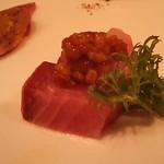 海鮮中国料理黄河 - 2013年3月カンパチと豆味噌