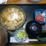 三遊司 - 長女が食べた(●^o^●)柳川鍋のセット1450円