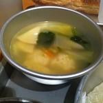 給食当番 - 肉団子入り野菜スープ