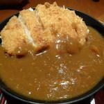 17784345 - 蕎麦屋さんのカツカレー丼