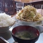 17785013 - 野菜炒め定食(750円)