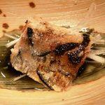 博仏ダイニング キノシタ - アミューズ・・鰯のオイル漬け。オイルサーデンですね。