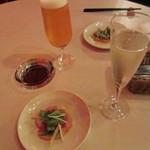 クワトロ チンクエ - スパークリングワイン¥!??、プレミアムモルツ¥500