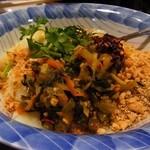 ノング インレイ - シャン豆腐の和え物¥700