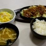 17787371 - 味噌だれ焼肉定食