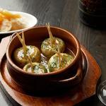 恵比寿18番 - 料理写真:マッシュルームの陶板焼き