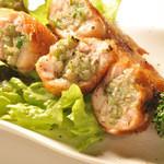 サンブラッシュ - 宮崎地鶏の手羽餃子